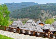 Drvengrad Σερβία στοκ φωτογραφίες