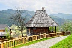 Drvengrad Σερβία στοκ φωτογραφία