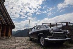 Drvengrad Bosnien och Herzogovina royaltyfria bilder