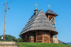 Drvengrad en Serbie Image libre de droits