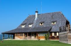 Drvengrad na Sérvia Imagem de Stock Royalty Free