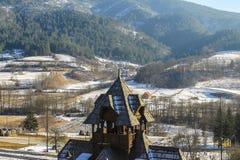 Drvengrad, Serbia Imagen de archivo libre de regalías