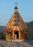 Drvengrad in Serbia Royalty Free Stock Image
