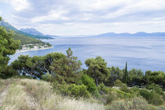 Drvenik, Strand Kroatiens, adriatisches Meer Lizenzfreies Stockbild