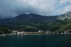 Drvenik, view from the sea Royalty Free Stock Photo