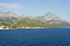 Drvenik village on the Dalmatian coast Stock Images