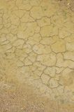 Dry. Drought, severe cracking of the ground water Royalty Free Stock Images