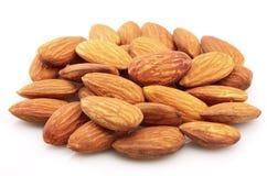 Dry almonds Stock Photo