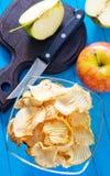 Dry apple Stock Image