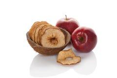 Dry apples. Stock Photos