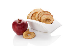 Dry apples. Royalty Free Stock Image