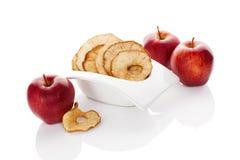 Dry apples. Stock Image