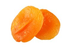 Dry apricot stock photography