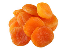 Dry apricot stock photos