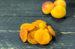 Dry apricot and apricot. Dry apricot. Fruits. Apricot and apricot. Dry apricot. Fruits Healthy Royalty Free Stock Image