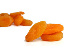 Dry apricot Royalty Free Stock Photos