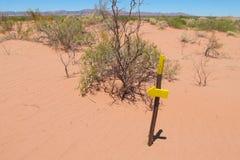 Dry arid landscape Stock Photo