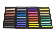 Dry art pastels Stock Photo