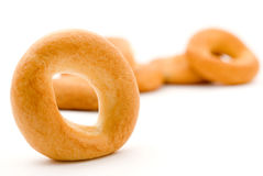 Dry bagels Stock Images