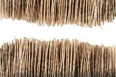 Dry bamboo stalks. Pattern 2 roll Royalty Free Stock Images