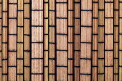 Dry bamboo texture in the form of small rectangles collection of vegetable and natural fibers. Foreground stock photos