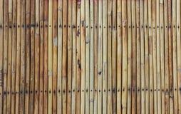 Dry bamboo wall Royalty Free Stock Photos