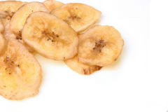 Dry banana Stock Images