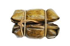 Dry banana leaf Stock Image
