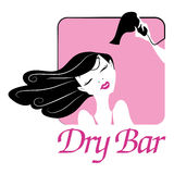 Dry-bar-illustration Royalty Free Stock Image