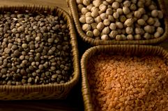 Dry beans Royalty Free Stock Images