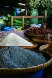 Dry beans,cereals, sold in market. In asia stock photo