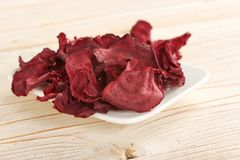 Dry beetroots Royalty Free Stock Photography
