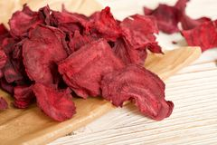 Dry beetroots Stock Photography