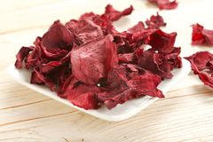 Dry beetroots Royalty Free Stock Photo