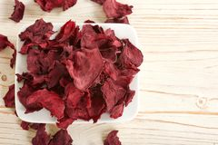 Dry beetroots Royalty Free Stock Image