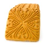 Dry biscuit. Isolated dry biscuit on a white background royalty free stock photography