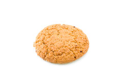 Dry biscuit of oats meal Royalty Free Stock Photo