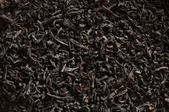Dry Black Loose Leaf Tea Stock Photos