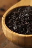 Dry Black Loose Leaf Tea Stock Image