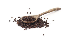 Dry black pepper Royalty Free Stock Images