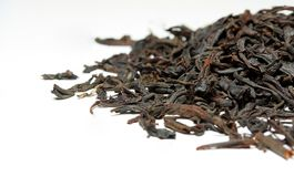 Dry black Puerh tea Royalty Free Stock Photography