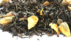 Dry black tea Stock Photography