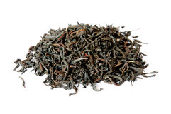 Dry black tea leaves Royalty Free Stock Image