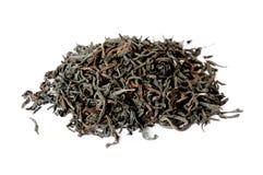 Dry black tea leaves Royalty Free Stock Image