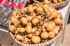 Dry bottle gourd sold as souvenir Stock Photos