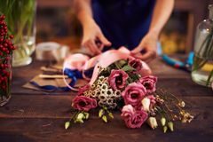 Dry bouquet Royalty Free Stock Photo