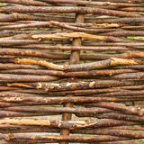 Dry branches fence Royalty Free Stock Photos