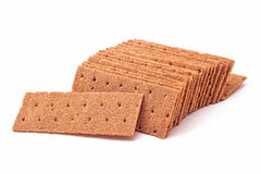 Dry bread slices Royalty Free Stock Image
