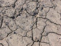 Dry broken soil. Stock Photo