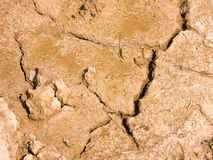 Dry brown soil texture Royalty Free Stock Photography